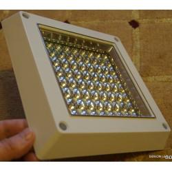 Plafon led panel ledowy lampa led 6W warm ciepłe światło Sideon Warszawa