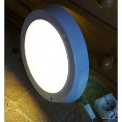 Okrągły plafon led panel ledowy lampa led 6W ciepłe światło Sideon Warszawa