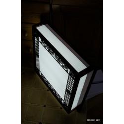 Ozdobny plafon led 52x52cm panel ledowy lampa led 24W naturalne białe światło Sideon Warszawa