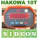 Waga hakowa wisząca do 10000kg z pilotem Sideon 10t