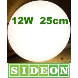 Plafon led panel ledowy lampa led 12W naturalne białe światło Sideon Warszawa