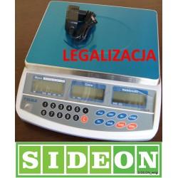 Waga sklepowa legalizowana 15kg do kasy fiskalnej RS232