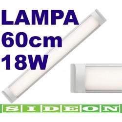 Lampa Liniowa Zintegrowana LED 18W Sideon Warszawa