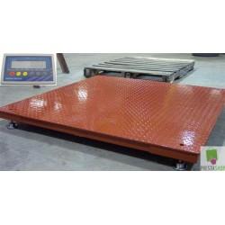 Wielka waga platformowa floor scales Sideon do 5000kg warszawa