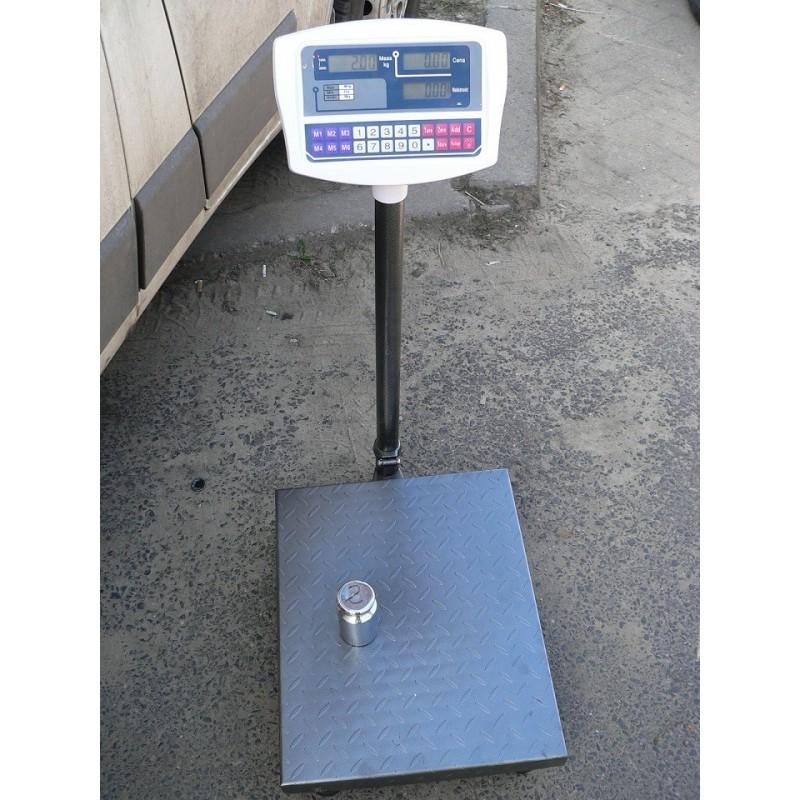 Waga magazynowa Sideon DY ryflowana 40x50cm 300kg