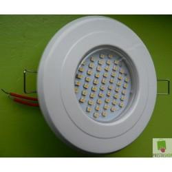 Halogen Sufitowy Szafkowy LED 3,5W w Białej Oprawie