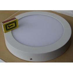 Plafon led panel led 18W nawierzchniowy cold zimne światło Sideon