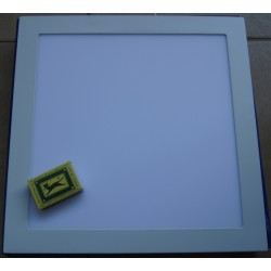 Plafon led panel led 25W kwadratowy nawierzchniowy ciepłe zimne światło Sideon