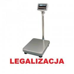 Waga magazynowa SIDEON legalizowana do 150kg 35x45cm