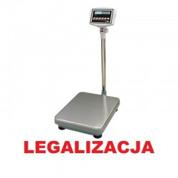Waga magazynowa SIDEON legalizowana do 300kg 35x45cm
